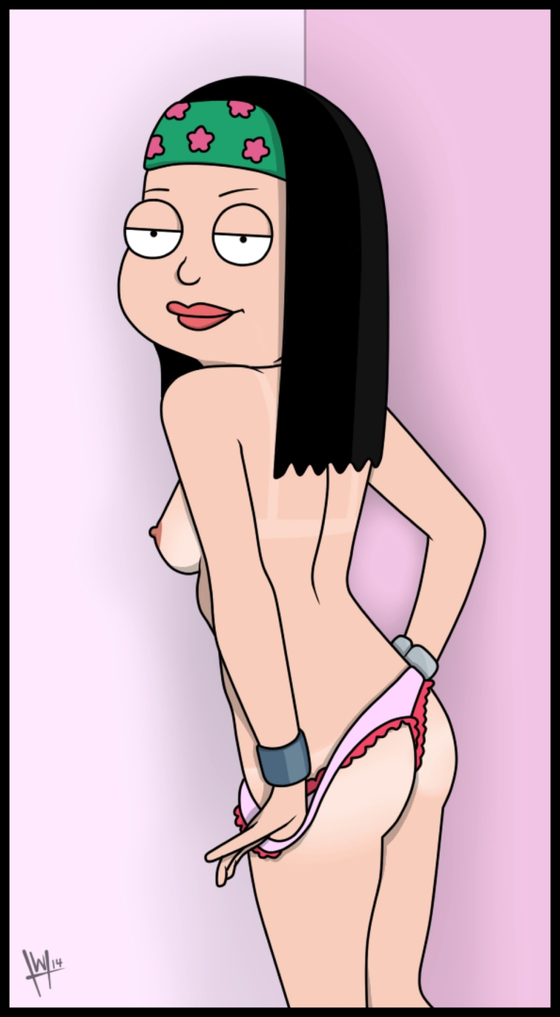 from Patrick american dad haley naked
